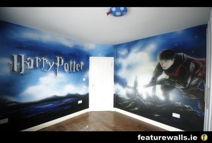 HARRY POTTER BEDROOM MURAL