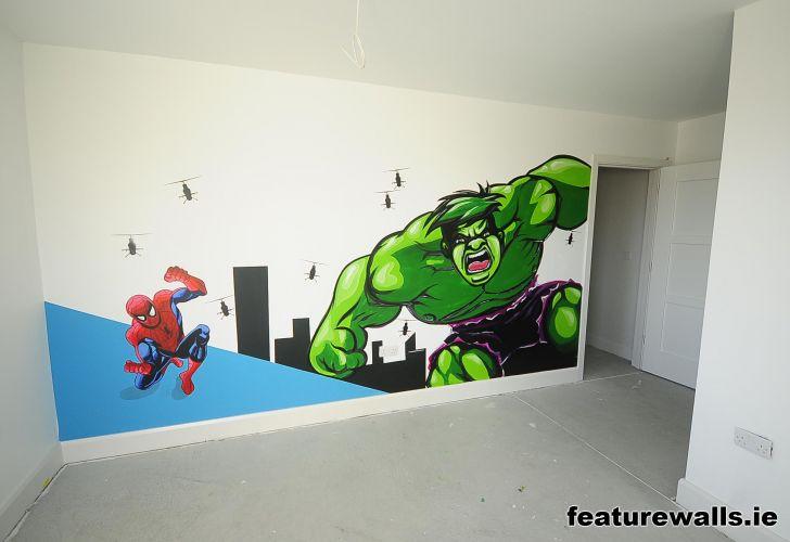 childrens murals wall murals custom hand painted wall