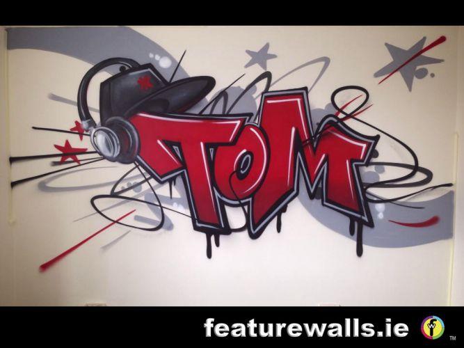 Kids Murals Childrens Rooms Decorating Kids Rooms Super Hero - Bedroom graffiti art for kids