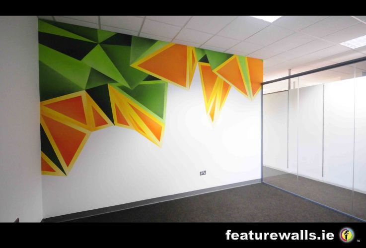 Decorative finishes businesses murals hospital murals for Corporate mural