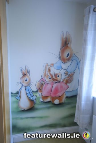 ... Peter Rabbit Mural ... Part 19