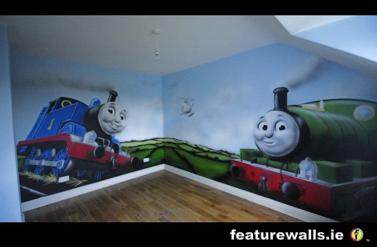 kids murals childrens rooms decorating kids rooms super. Black Bedroom Furniture Sets. Home Design Ideas