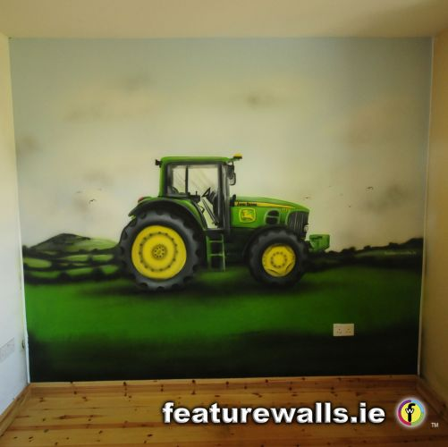 John Deere Room Paint Colors http://www.featurewalls.ie/children_boy.php
