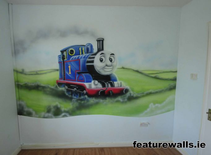 Good Thomas The Tank Engine Wall Murals Thomas The Tank Engine Wall Sticker Mural  Decor By . Design Inspirations