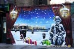CHRISTMAS MURAL FOR GUINNESS (O'CONNELL'S EYRE SQ GALWAY)